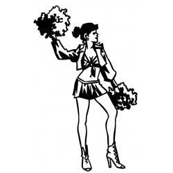 Pompom girl