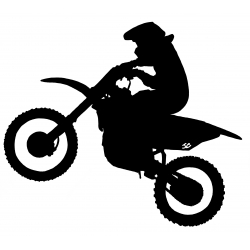 Moto Cross de profile